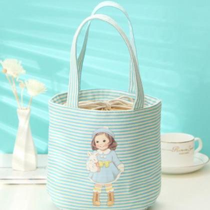 Handy Light Color Striped Baby Doll..