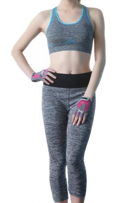 Women's Breathable Bra Activewear Suit