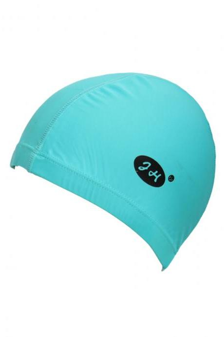 Women's Solid Color Patchwork Swimming Hat
