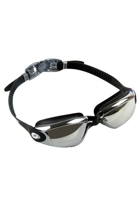 Adult's Anti-fogging Waterproof Swimming Goggles For Shortsightedness