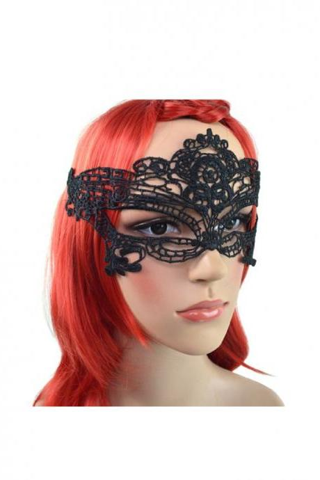 Women's Halloween Masquerade Sexy Lace Eye Mask