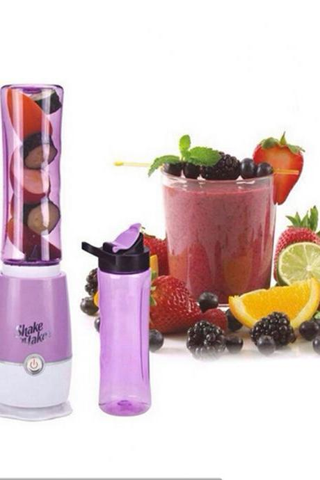 Purple Multifunctional Household Electric Mini Juice Blender