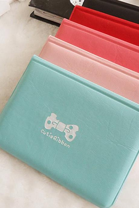 Fresh Style Cute Bowknot Women's Card Purse