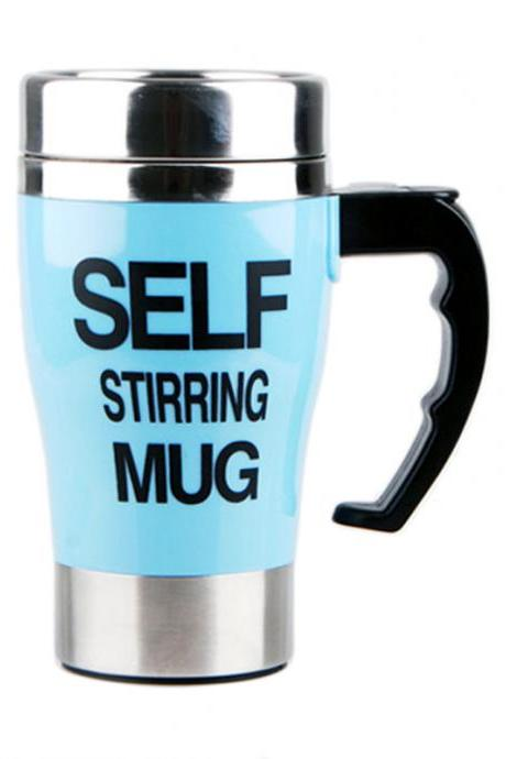 Durable Heat Retaining Electric Self Stirring Coffee Cup
