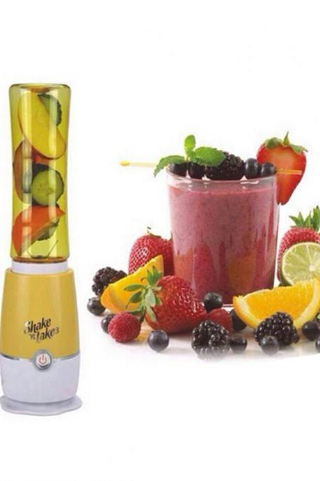 Yellow Multifunctional Household Electric Mini Juice Blender