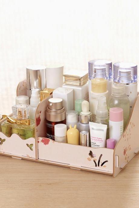 Delicate Lightweight DIY Desk Storage Organizer
