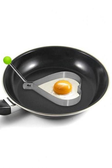 Heart Shaped Stainless Steel Egg Mould