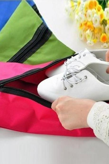 Portable Waterproof Lightweight Travel Shoes Storage Bag