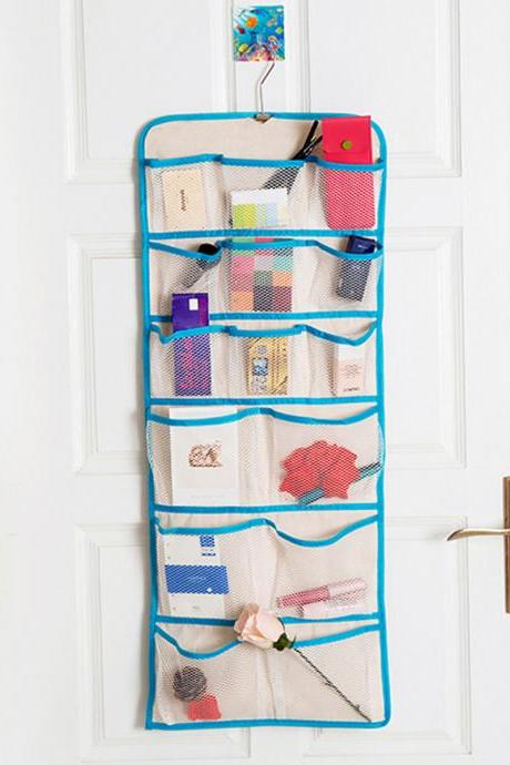Underwear Storage Bag Two Sided Wall Hung Type Storage Bag