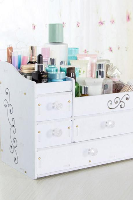 Large Capacity Drawer Type Cosmetics Storage Container