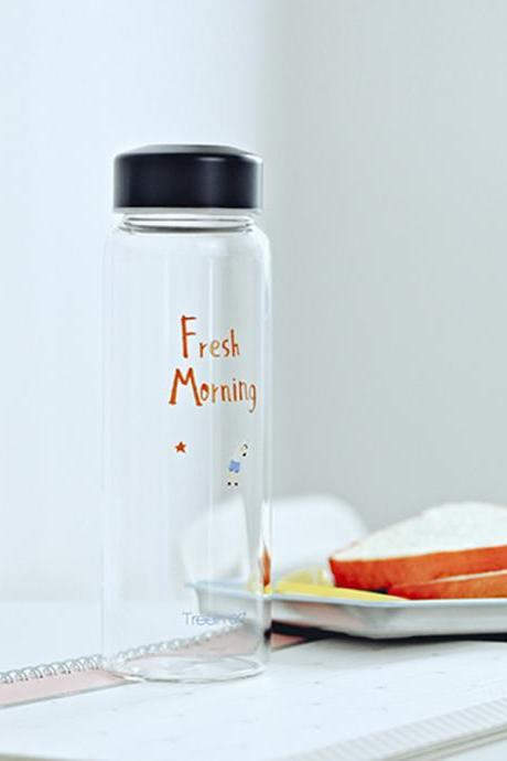 Fresh Morning Convenient Silm Travel Glass