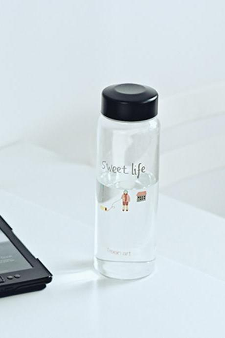 Sweet Life Convenient Silm Travel Glass